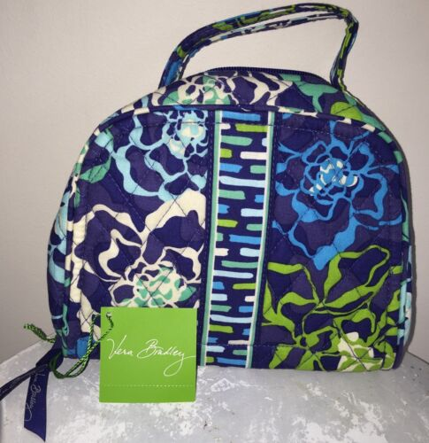 Vera Bradley Travel Jewelry Organizer Katalina Blues Case...