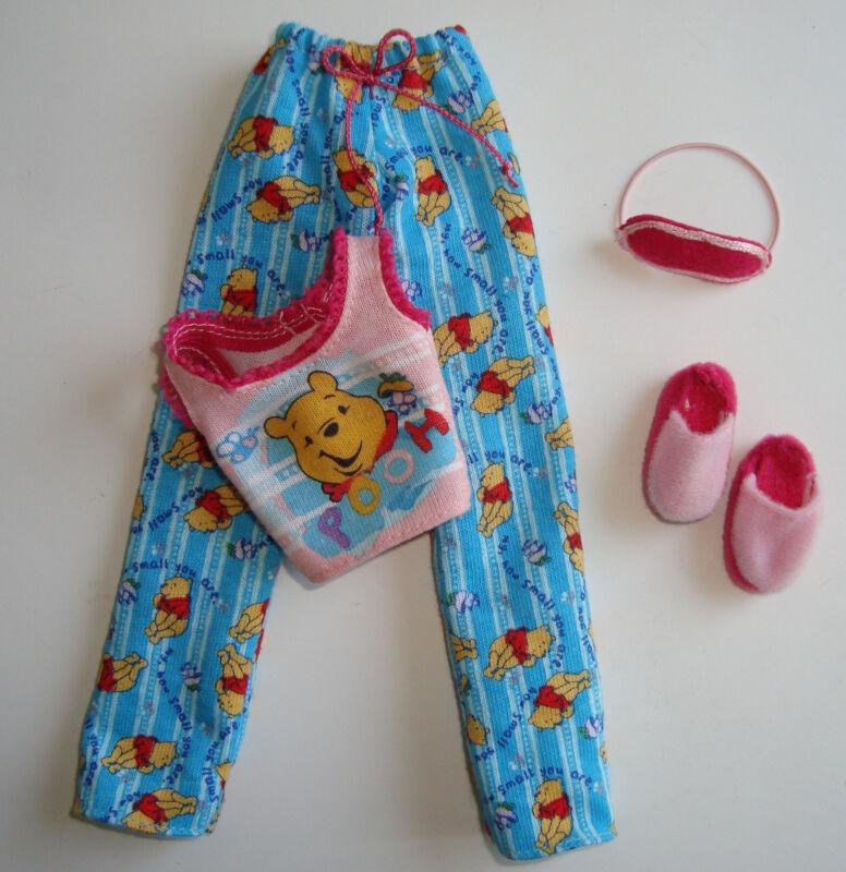 BARBIE Clothes/ Fashion Winnie The Pooh Pajama Set NEW!