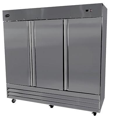 Saba S-72f Commercial Upright Freezer Stainless Steel Freezer Storage 3 Solid