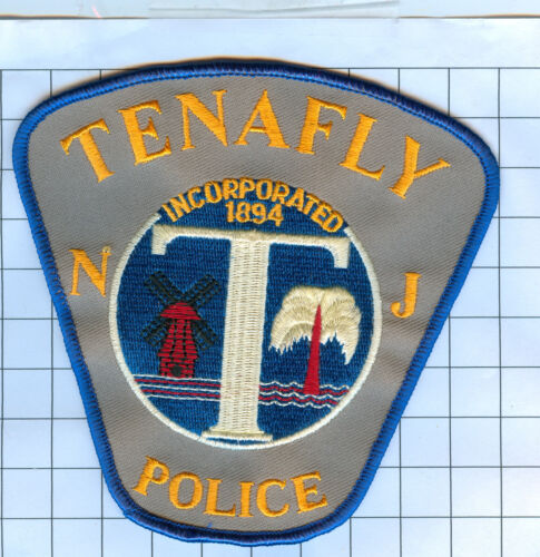 Police Patch  - New Jersey - TENAFLY