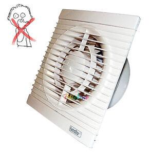 Aspiratore aria da muro estrattore ventola aspira odori bagno cucina casa 17 w ebay - Ventola aspirazione cucina ...