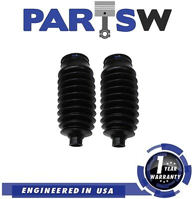 2 Pc New Rack  Pinion Bellow Boots Kit for Honda Civic 2006 2011 All Models