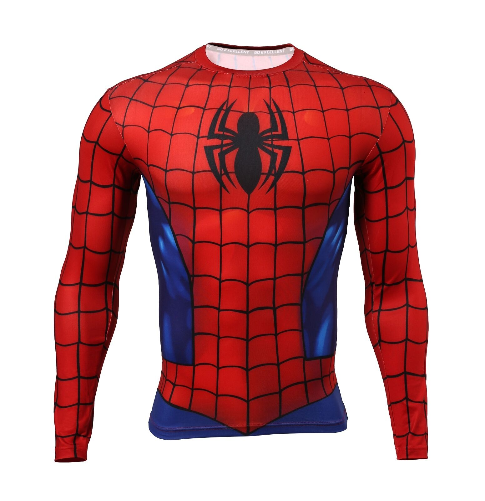 Amino Z Team Womens Weight Lifting Bodybuilding Gym: Mens Compression Superhero Top Base Layer Gym Long Sleeve