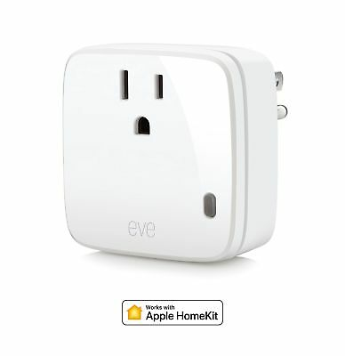Eve Energy - Smart Plug  Power Meter with Apple HomeKit technology, Bluetooth