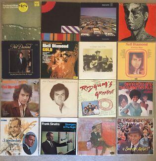 Bulk Lot Original Vinyl Records x 53