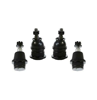 4 Pc Front Upper and Lower Ball Joints Kit for Escalade Tahoe Yukon Sierra 1500