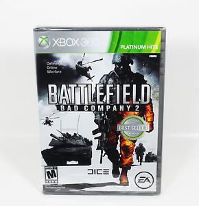 Battlefield: Bad Company 2 (Xbox 360, 2010) NEW & Sealed