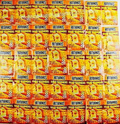 Hot Hands Hand Warmers Long Heat Up To 8 Hours  Lot Of 10 36 72 Or 144 Pairs