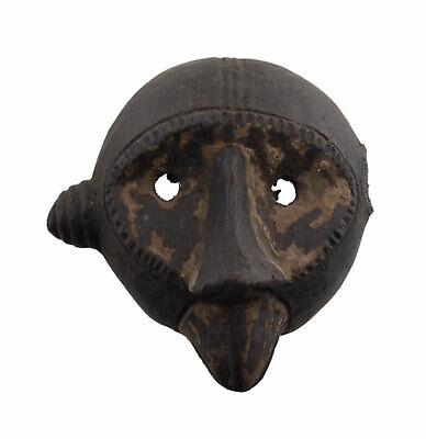 Masquette Votive Terracotta Pasport Grade Mask Fetish Art African 6446
