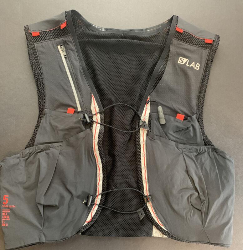 New no bottles - Medium - Salomon S/Lab Sense Ultra 5 Set Hydration Running Vest