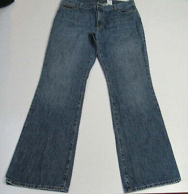 Women's Eddie Bauer Boot Cut Blue Jeans Size 14 Tall : -