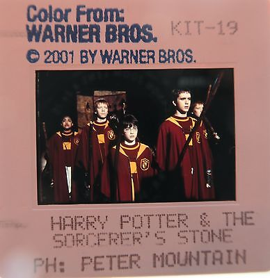 Harry Potter and the Sorcerer's Stone CAST Daniel Radcliffe Maggie Smith SLIDE