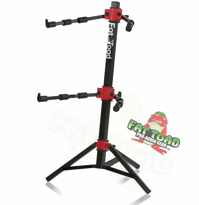 DJ Workstation Stand by FAT TOAD Keyboard Mixer MIDI Holder Laptop Table Mount