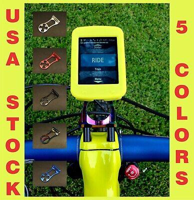 CNC Bike/Bicycle Mount GARMIN Edge 830/820/530/520/20/25/1030 GoPRO Camera Black