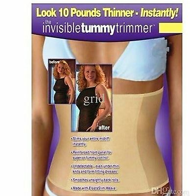 Invisible tummy trimmer Slimming waist Belt clincher S M L XL light corset  (Waist Clincher)