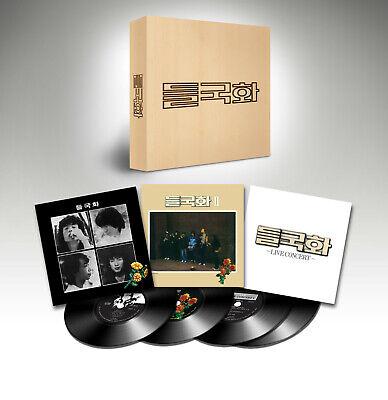 Deulgukhwa Official Limited to 366 Album1 Album2 Live LP Set Wild chrysanthemum