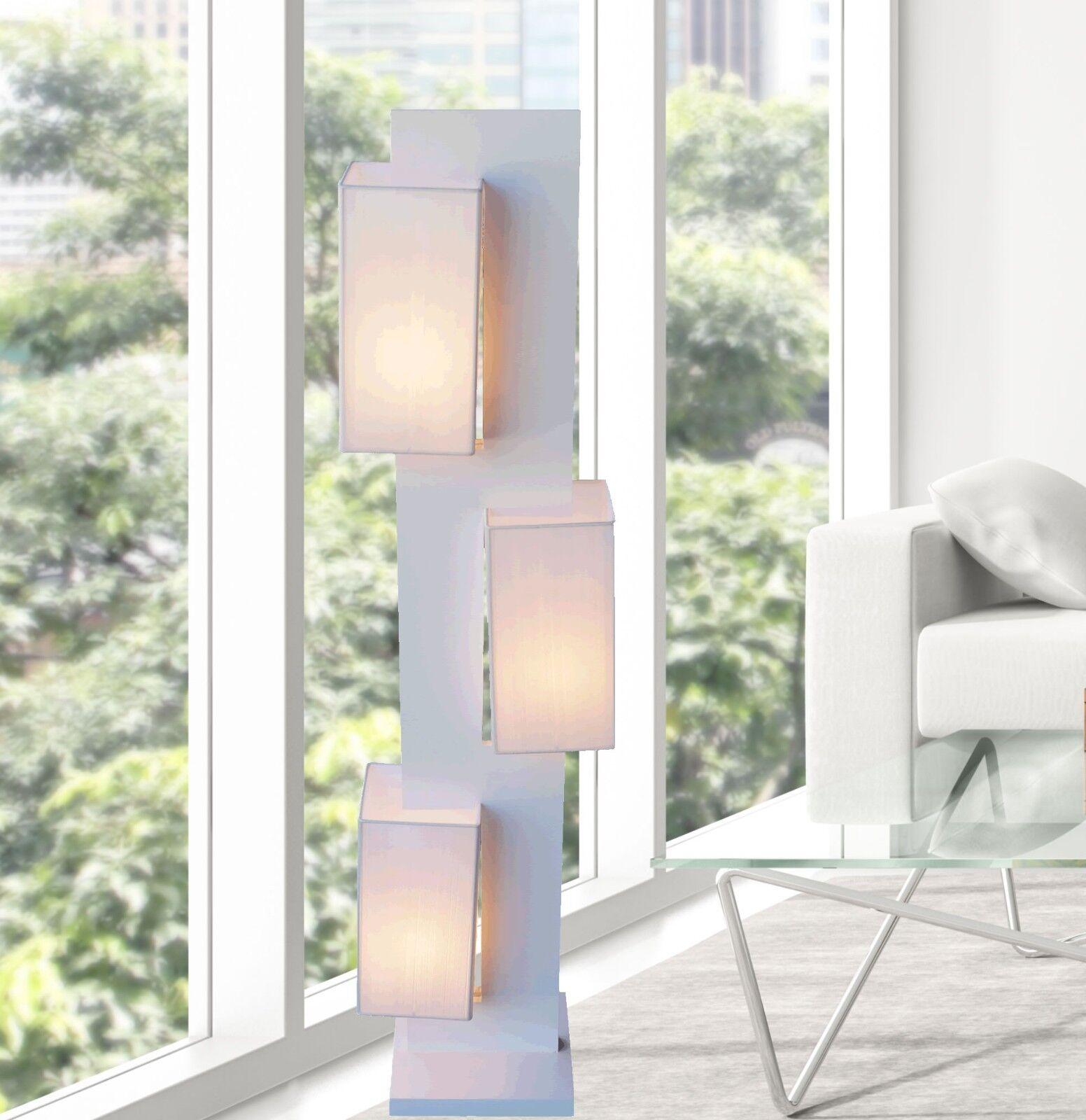 White Modern Contemporary Floor lamp ZK002L lighting for