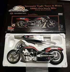 2002 V-Rod Pro stock bike 1/9 Scale. Glenelg North Holdfast Bay Preview