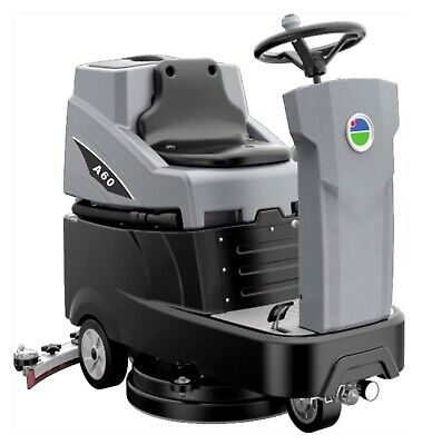 New Ride On Auto Floor Scrubber Machine 22 With Battery Brush