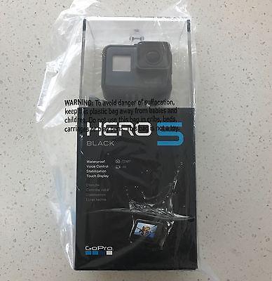 RETAIL NEW GoPro - HERO 5 Black 4K Action Waterproof Camera