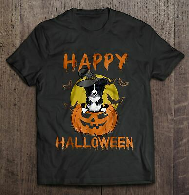 Halloween Border Collie (Happy Halloween – Border Collie Version Men T-Shirt)