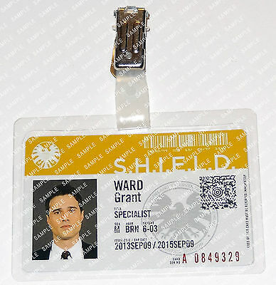Marvel Agents of S.H.I.E.L.D. Grant Ward Cosplay Costume Prop ComicCon Halloween