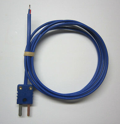 T-type Thermocouple Awg 24 Wire Sensor Probe With Pvc Polyvinyl Insulation 3ft
