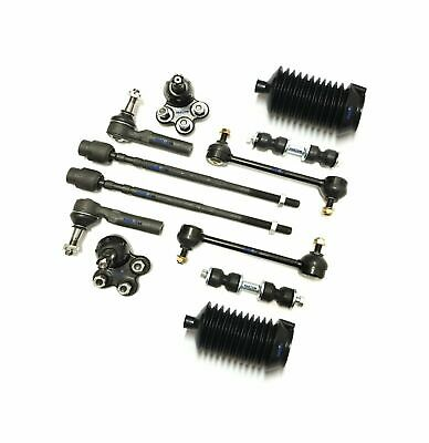 12 Pc Suspension Kit for Allure Impala Intrigue Grand Prix, Tie Rods & Sway Bars