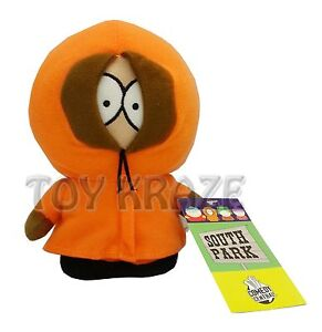 SOUTH-PARK-KENNY-SOFT-PLUSH-DOLL-STUFFED-TOY-FIGURE-LICENSED-NANCO-6-NEW