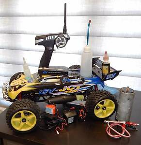 GV-JCT 1/8 Scale Nitro Truggy! Almost New! .32cc Engine RTR! Panania Bankstown Area Preview