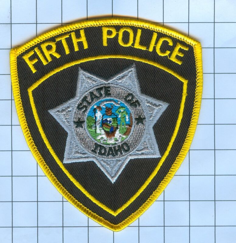 Police Patch  - Idaho - Firth