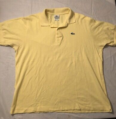 Lacoste Polo Shirt Men's Sz XL EU 7 Casual Rugby