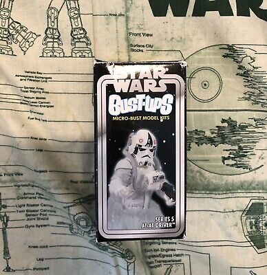 Star Wars Gentle Giant Bust-ups Micro Bust Model Kit Series 5 AT-AT Driver