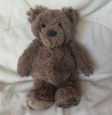 Dark Brown Plush Bear - Carters Plush Bear Dark Brown 9