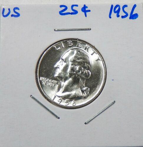 1956 Silver Washington  Quarter Uncirculated