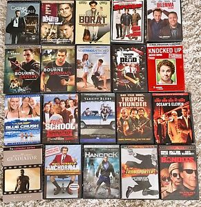 Used good condition DVDs