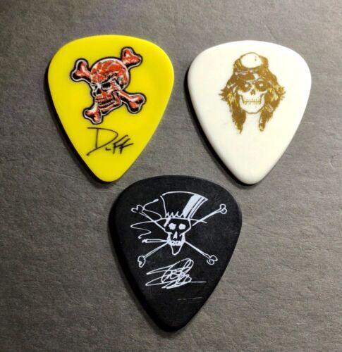 ***** Great package of Axl, Duff & Slash guitar picks - Guns n' Roses  ***** GnR