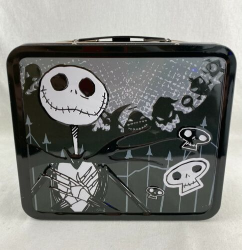 Disney Jack The Nightmare Before Christmas Lunch Box Tin by Loungefly NBX4558