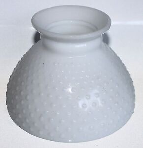 Vintage-Glass-Lamp-Shade-Hobnail-White-Opaque-Globe-5-5-Tall-Lighting-Fixture