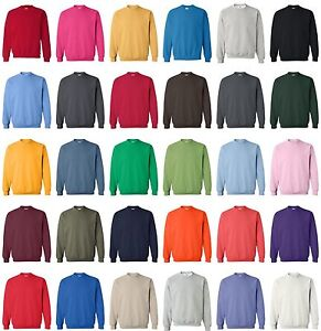 GILDAN-NEW-Mens-Size-S-M-L-XL-FS-Pullover-Heavy-Blend-Crewneck-Sweatshirt-Jumper