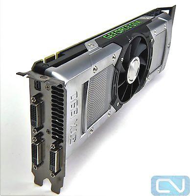 Dell XW75K NVIDIA GTX 690 LSI 4GB 6Gb/s GDDR5 PCI Express X16 3.0 Graphics Card
