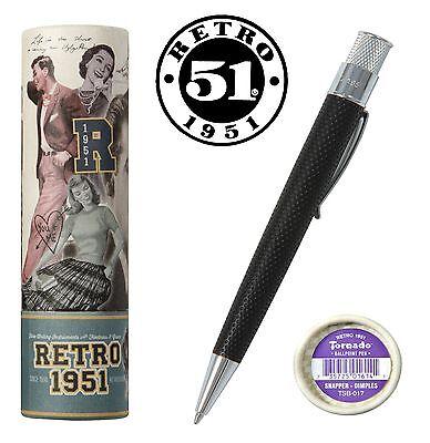 Retro 51 Tornado Snapper Pen / Dimples  #TSB-017 / Click Action Ball Point