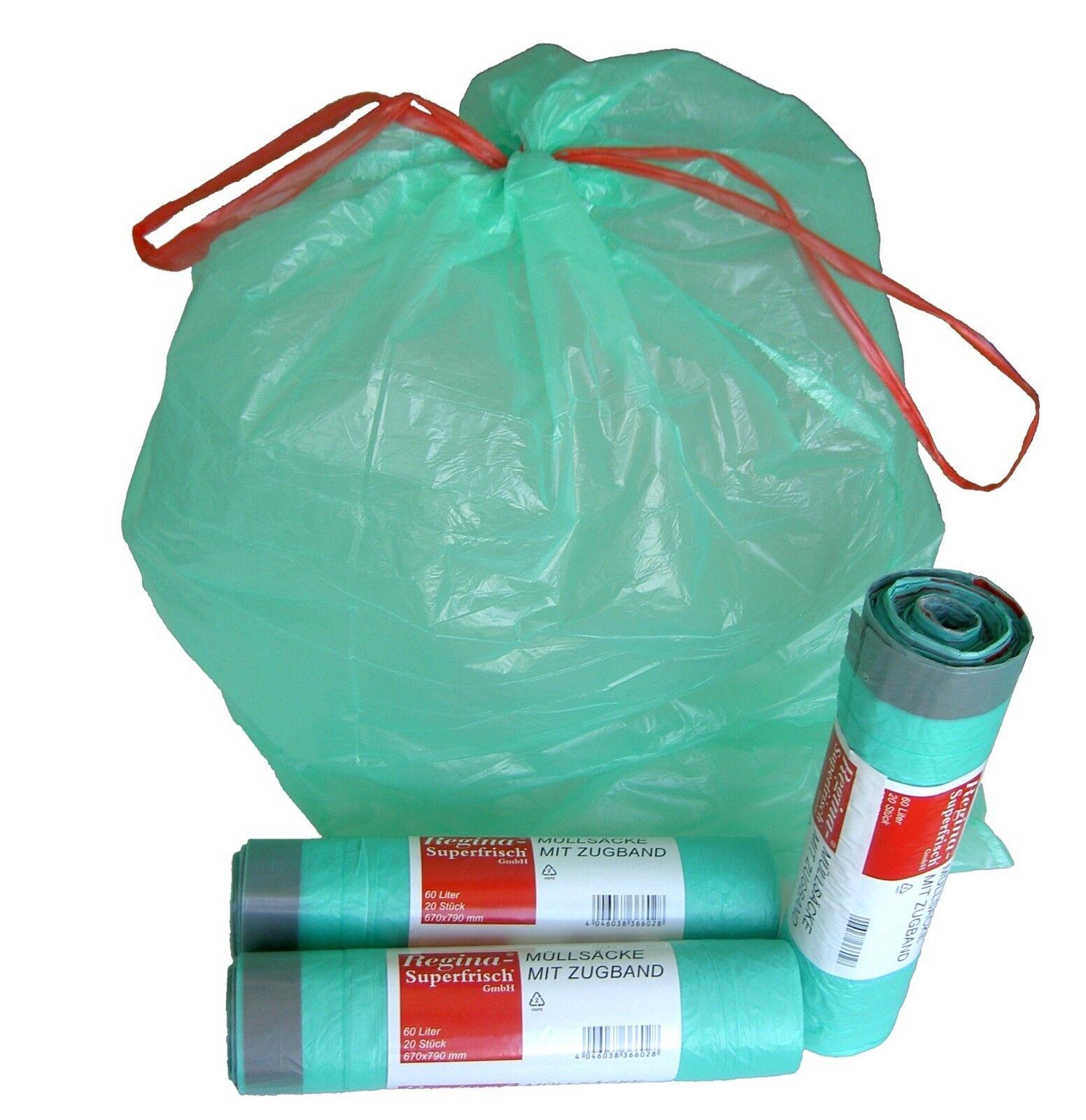 Müllsäcke Müllbeutel Abfallsäcke Abfallbeutel 20-120 L - MENGENRABATT