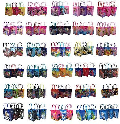 12X DISNEY MOANA TROLLS FINDING DORY GOODY PARTY FAVOR GIFT BIRTHDAY CANDY BAGS