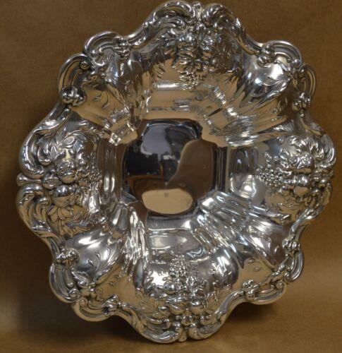 "Reed & Barton Francis I Sterling Silver Bowl X569 - 11.5"" - 653g"