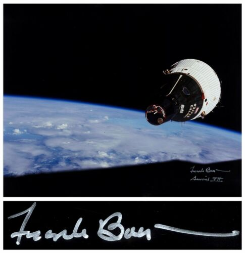 "Frank Borman Signed 20"" x 16"" Photo of the Gemini 7"