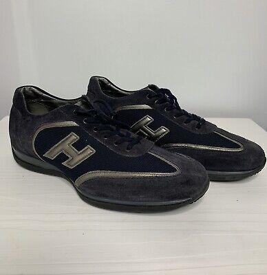 Mint ! HOGAN Low Men's Shoes Sneakers Size UK- 9.5 US -10.5