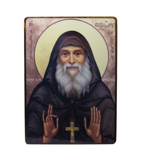 Orthodox icon of the Gabriel Urgebadze handmade icon, Georgian Orthodox