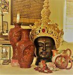 Cinnabar antique and vintage