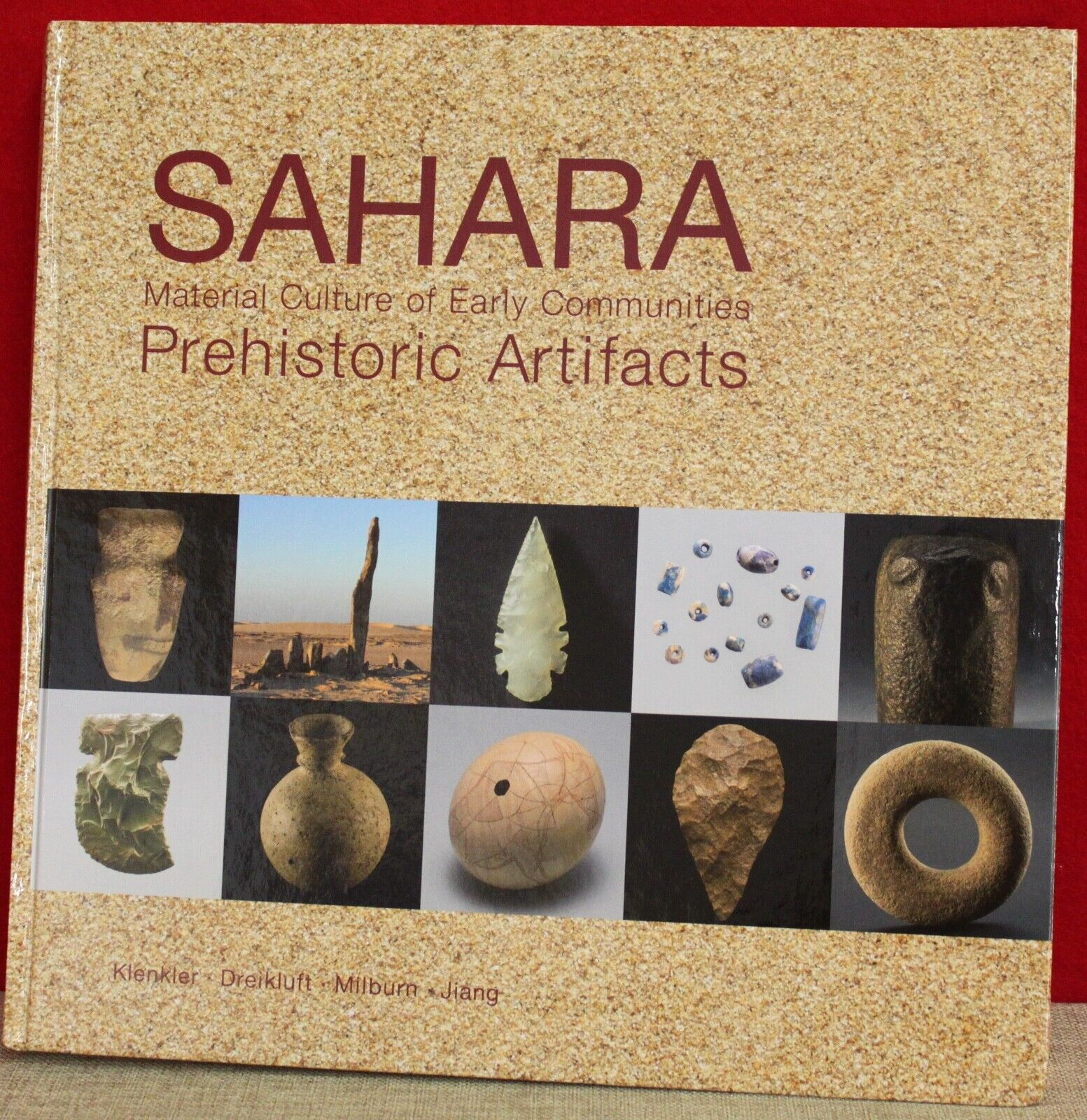 Sahara Material Culture of Early Communities Prehistoric Artifacts  NEW BOOK